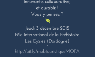 Illustration journée MOPA Mobilité touristique innovante, collaborative et durable 3 décembre 2015