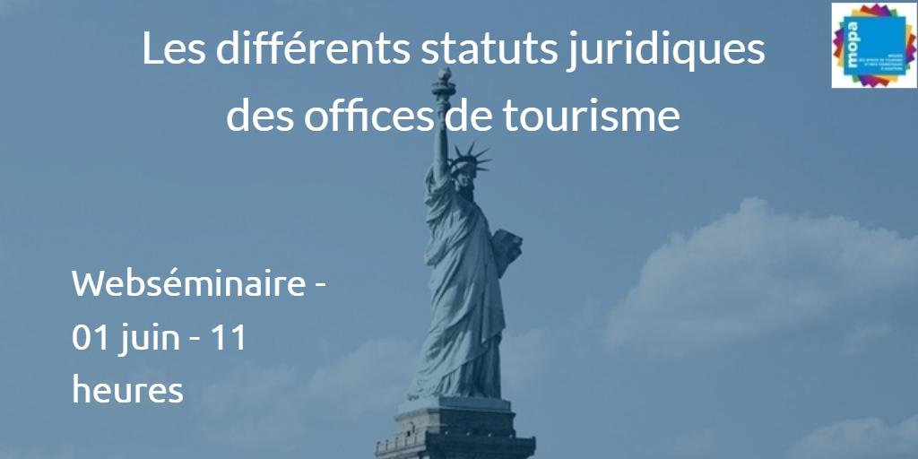 Webs minaire les diff rents statuts juridiques d 39 un office - Les carroz d arrache office du tourisme ...