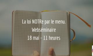 Webséminaire Loi NOTRe