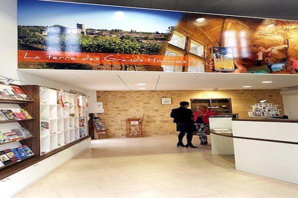 Bureau Accueil Rauzan Office Tourisme Castillon Pujols