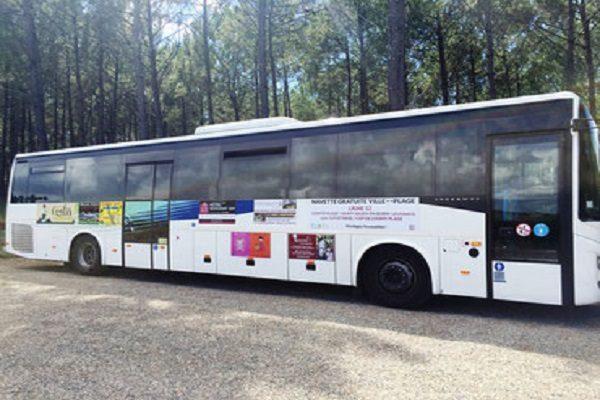 Bus navette CLNT