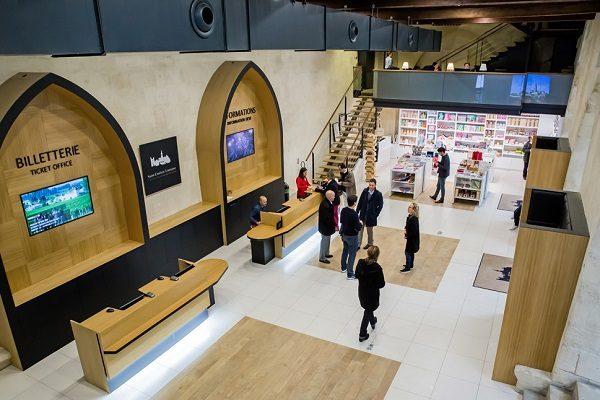 Accueil et boutique OT Saint Emilion