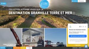 Le site de l'Office de Tourisme de Grand Ville Terre & Mer