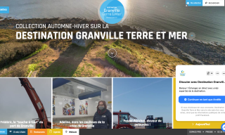 Le site de l'Office de Tourisme de Grand Ville Terre & Mer