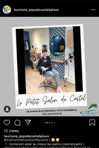 casteljalouxtourisme instagram commercants locaux