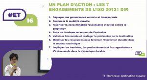 7 engagement ISO 20121 Bordeaux destination durable