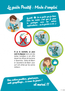 Edition ofice de tourisme béarn des gaves recyclage